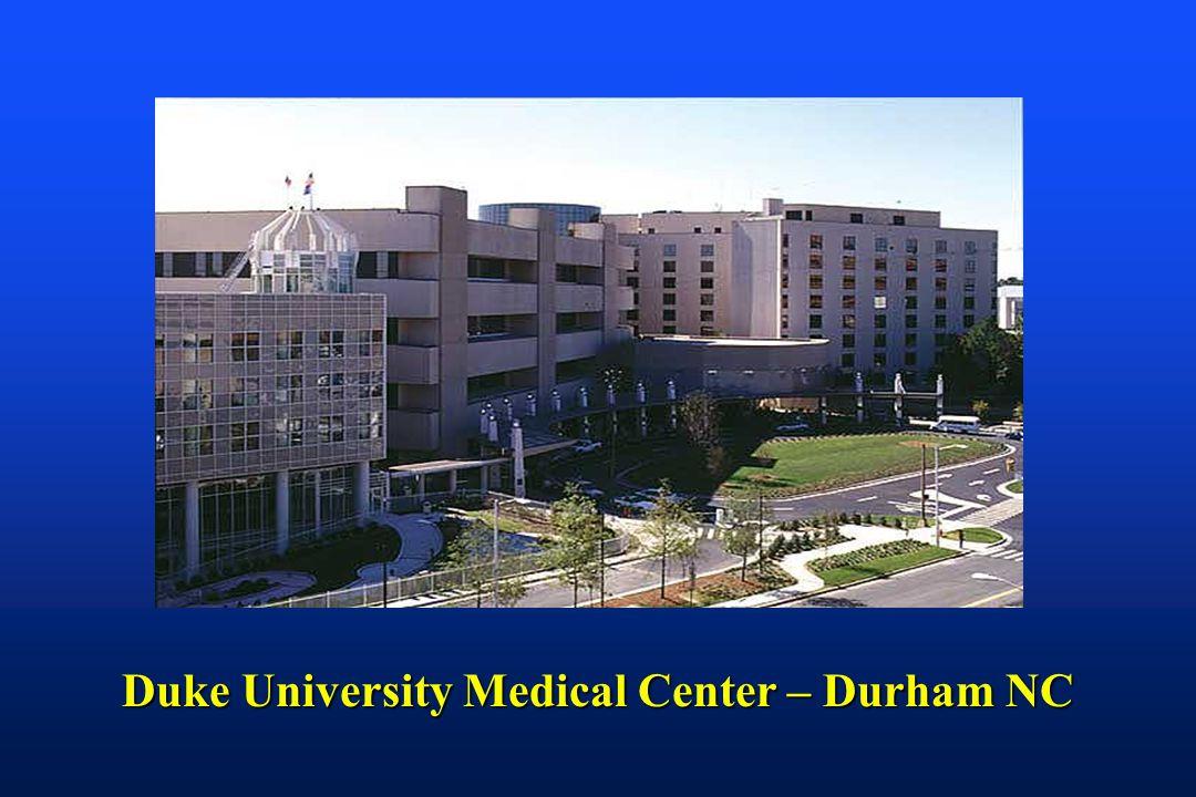 Duke University Medical Center – Durham NC