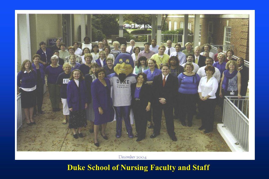 Duke School of Nursing Faculty and Staff