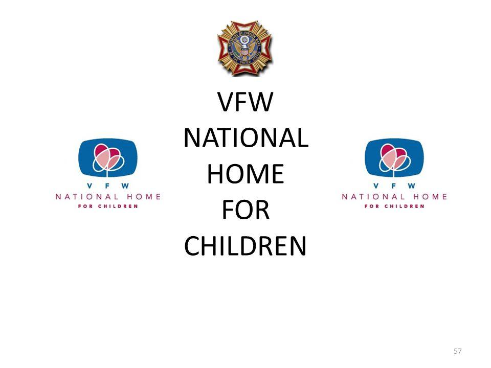 VFW NATIONAL HOME FOR CHILDREN 57
