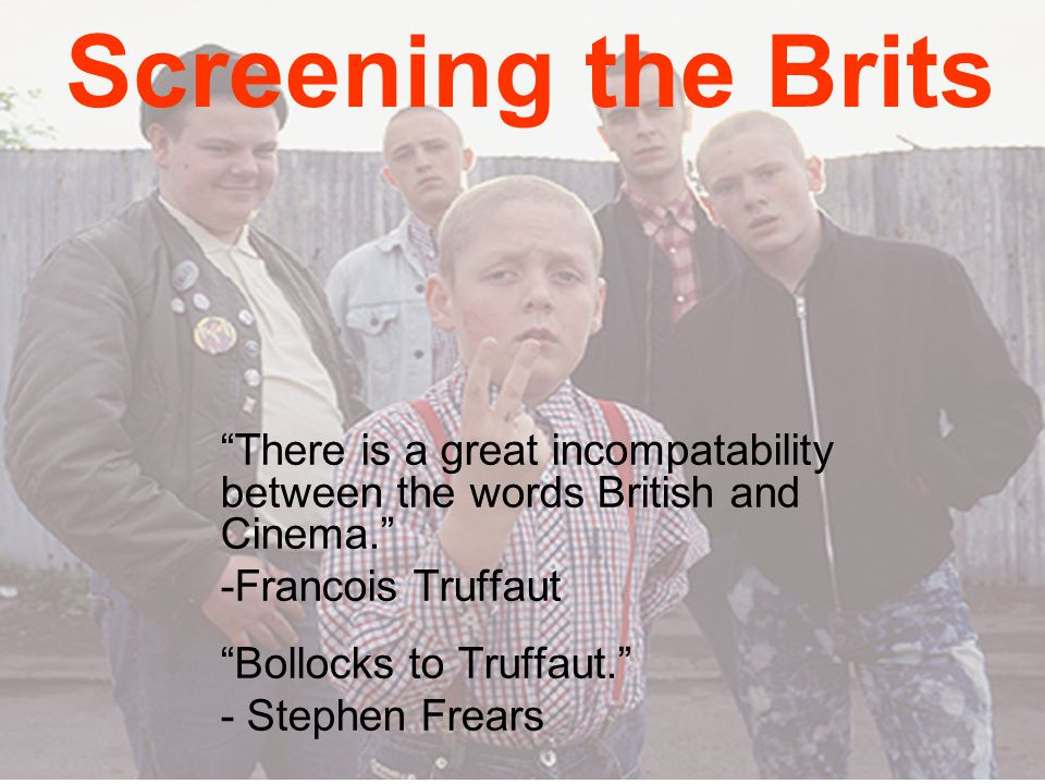 'A Green and Pleasant Land' – idealised visions of Britain 'Heritage' cinema Literary adaptations 'Urban fairytale' UK film used to reinforce patriotism (for domestic audience) UK film used as tourist marketing strategy (for foreign audiences)