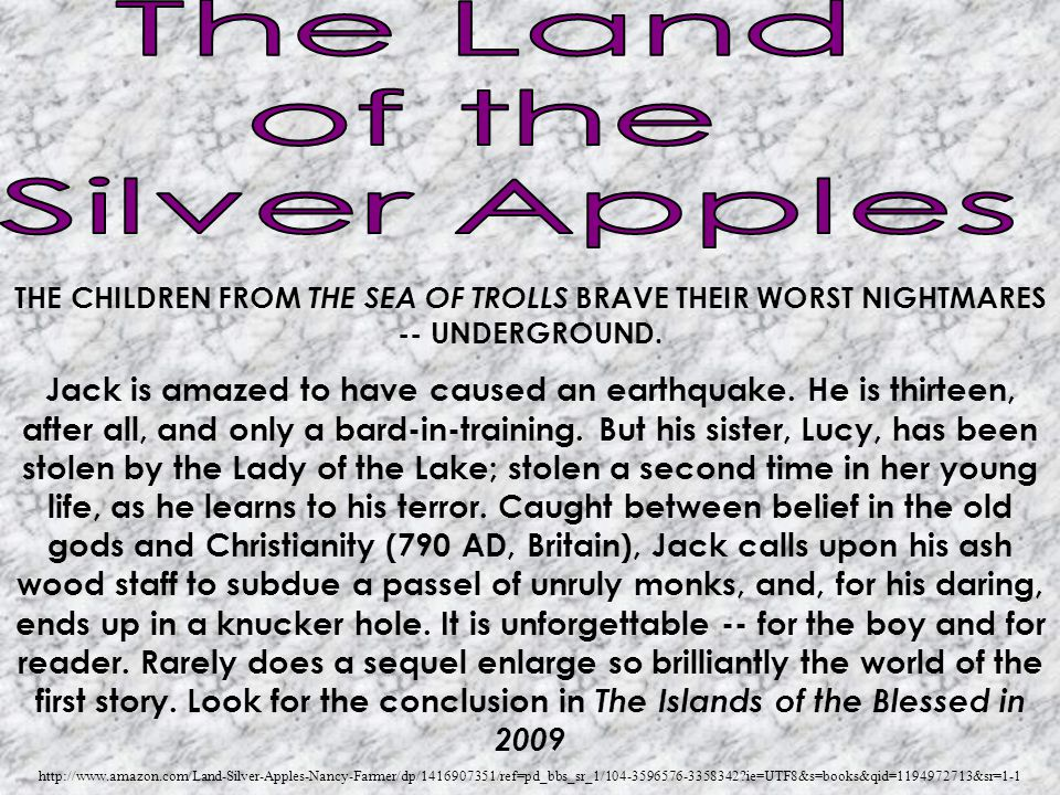 THE CHILDREN FROM THE SEA OF TROLLS BRAVE THEIR WORST NIGHTMARES -- UNDERGROUND. Jack is amazed to have caused an earthquake. He is thirteen, after al