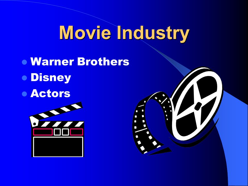 Movie Industry Warner Brothers Disney Actors