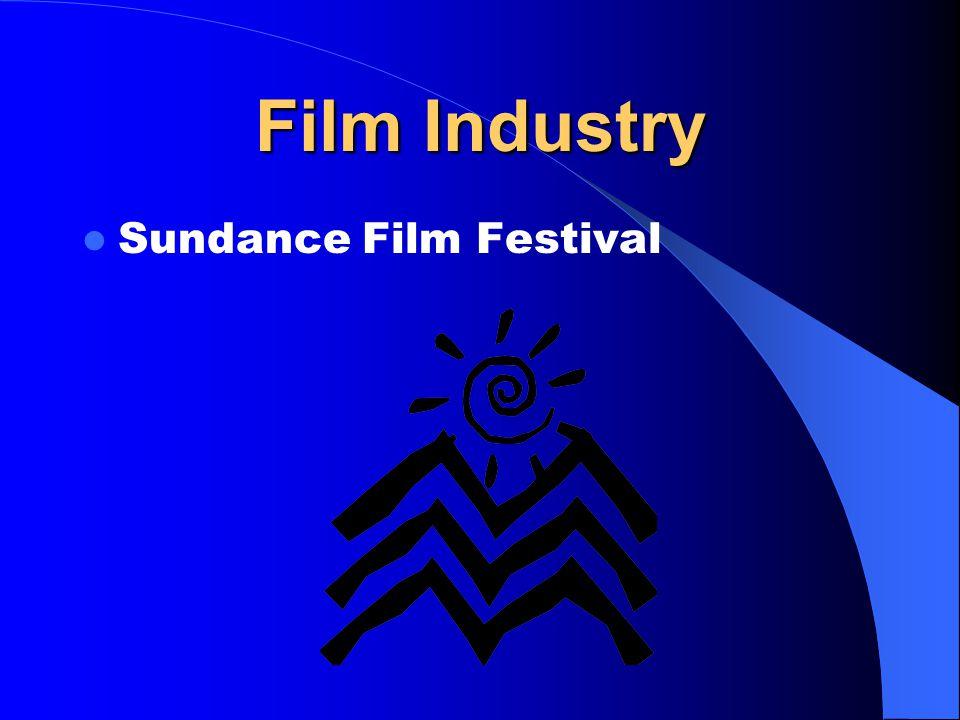 Film Industry Sundance Film Festival