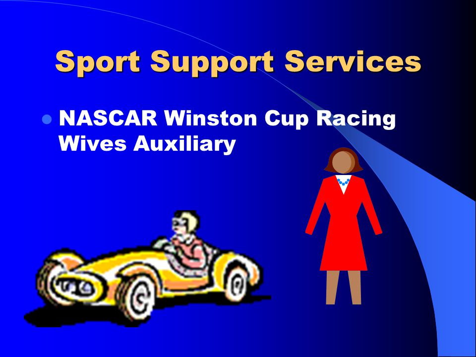 Sport Support Services NASCAR Winston Cup Racing Wives Auxiliary