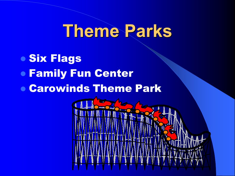 Theme Parks Six Flags Family Fun Center Carowinds Theme Park