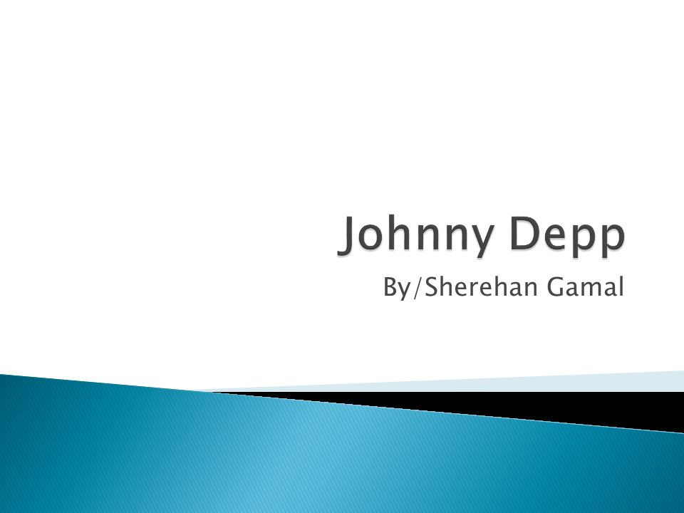  Johnny Depp is perhaps one of the most versatile actors of his day and age in Hollywood, who has recuperated his image greatly since his portrayal of Captain Jack Sparrow in the acclaimed Pirates of the Caribbean: The Curse of the Black Pearl (2003), with a supporting cast of Orlando Bloom, Keira Knightley, and Geoffrey Rush.Pirates of the Caribbean: The Curse of the Black PearlOrlando BloomKeira KnightleyGeoffrey Rush