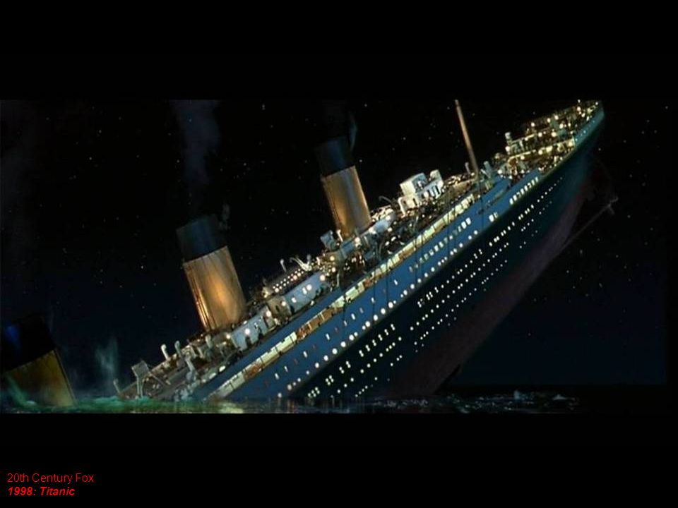 20th Century Fox 1998: Titanic