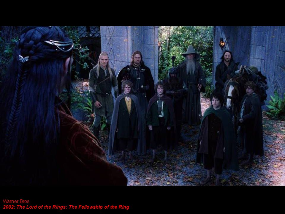 Warner Bros. 2002: The Lord of the Rings: The Fellowship of the Ring