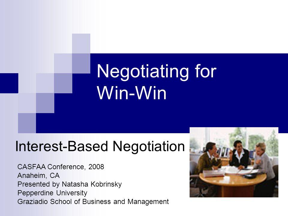 Do You Negotiate?!