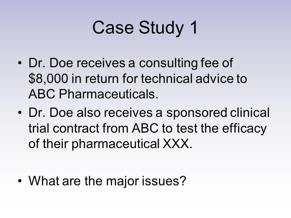 Case Study 1 Dr.