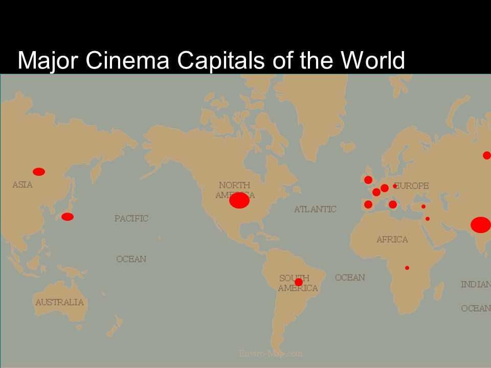 Major Cinema Capitals of the World