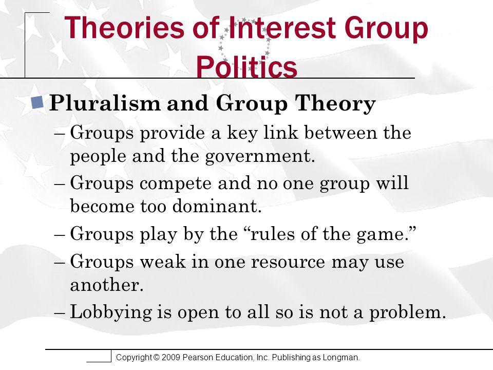 Copyright © 2009 Pearson Education, Inc. Publishing as Longman. The Interest Group Explosion