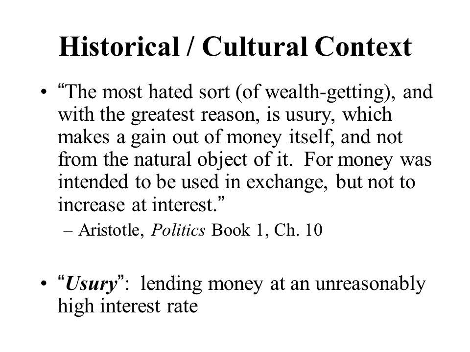 Historical / Cultural Context (A group)….
