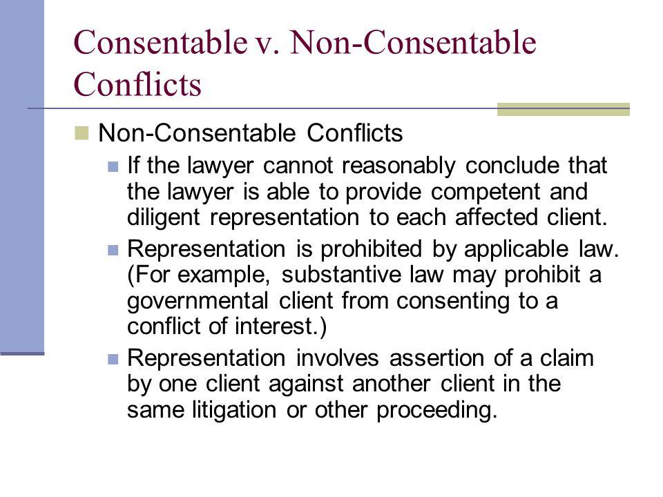 Consentable v.