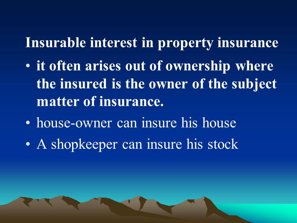 3. The application of insurable interest in life assurance assurance TheapplicanthisspouseHis parents parentshischildren