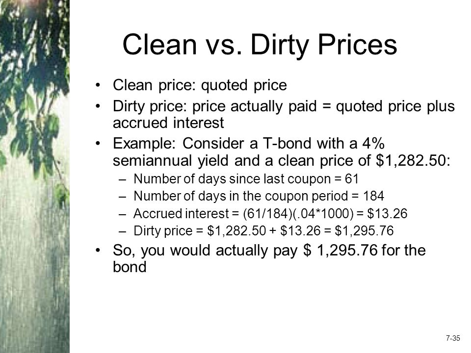 Clean vs.