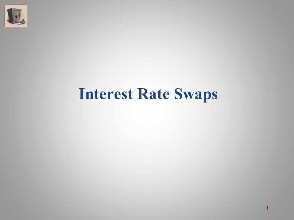 1 Interest Rate Swaps