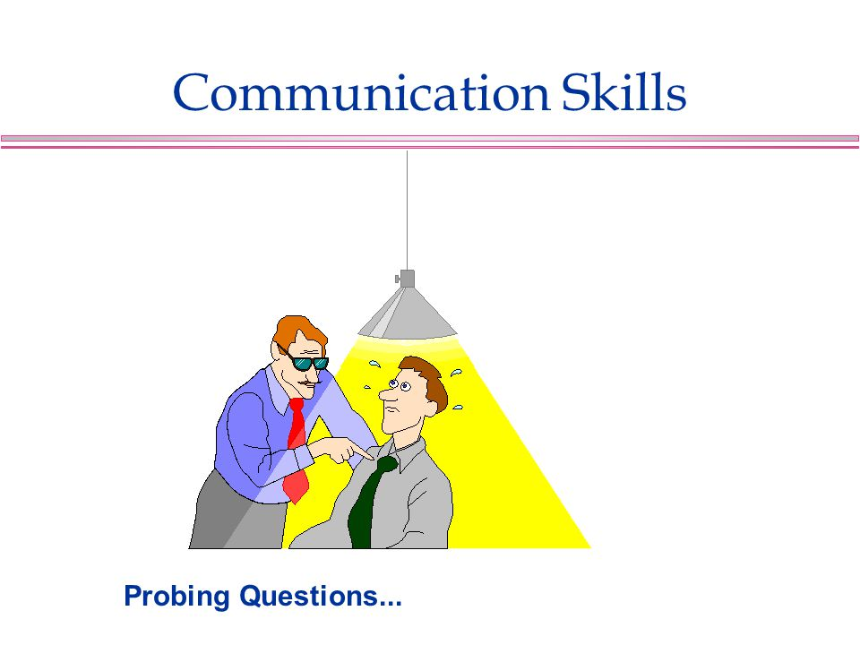 Communication Skills Probing Questions...