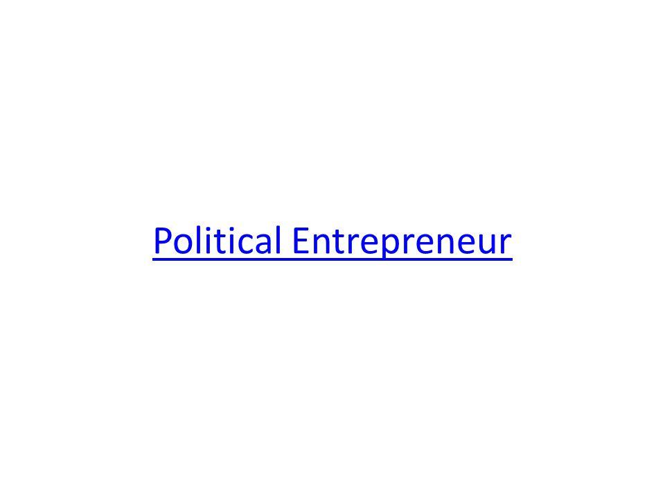 Political Entrepreneur