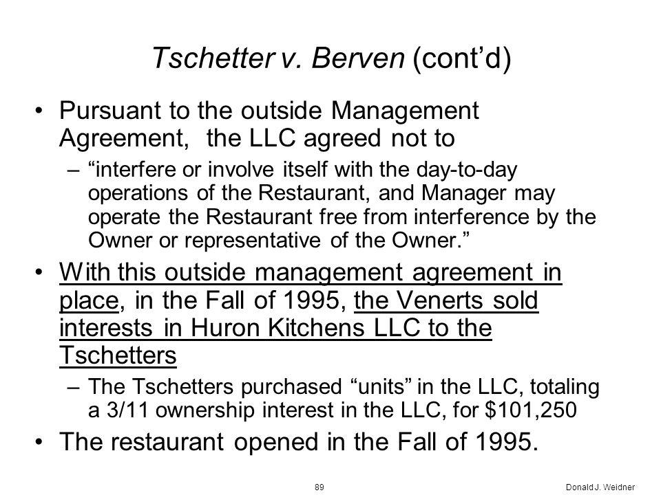 Donald J. Weidner89 Tschetter v.