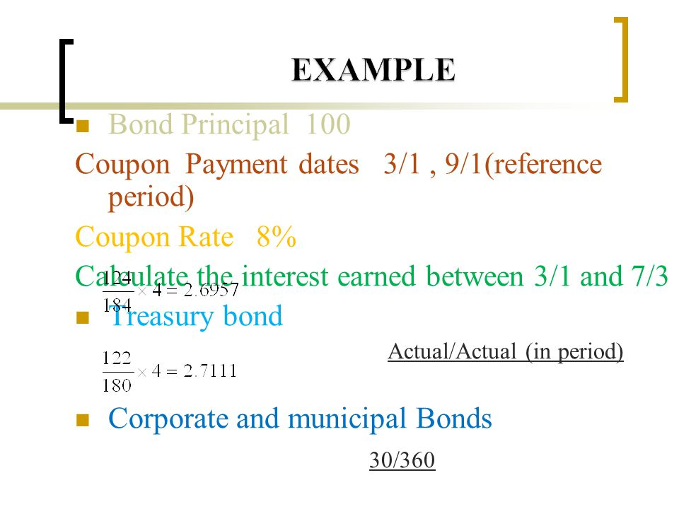 An exact theoretical future price for the treasury bond contract is difficult to determine Assume both the cheapest-to-delivery bond and the delivery date are known F: future price S: spot price I : present value of the coupons during the life of future contract