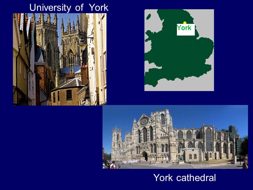 University of York York cathedral