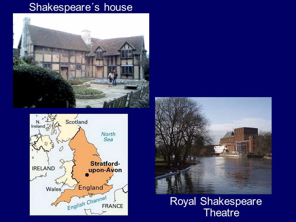Shakespeare´s house Royal Shakespeare Theatre