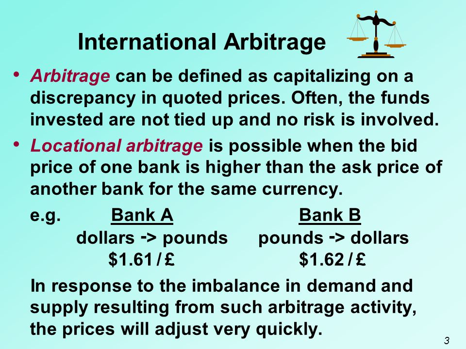 14 Impact of Arbitrage on an MNC's Value Forces of Arbitrage E (CF j,t ) = expected cash flows in currency j to be received by the U.S.