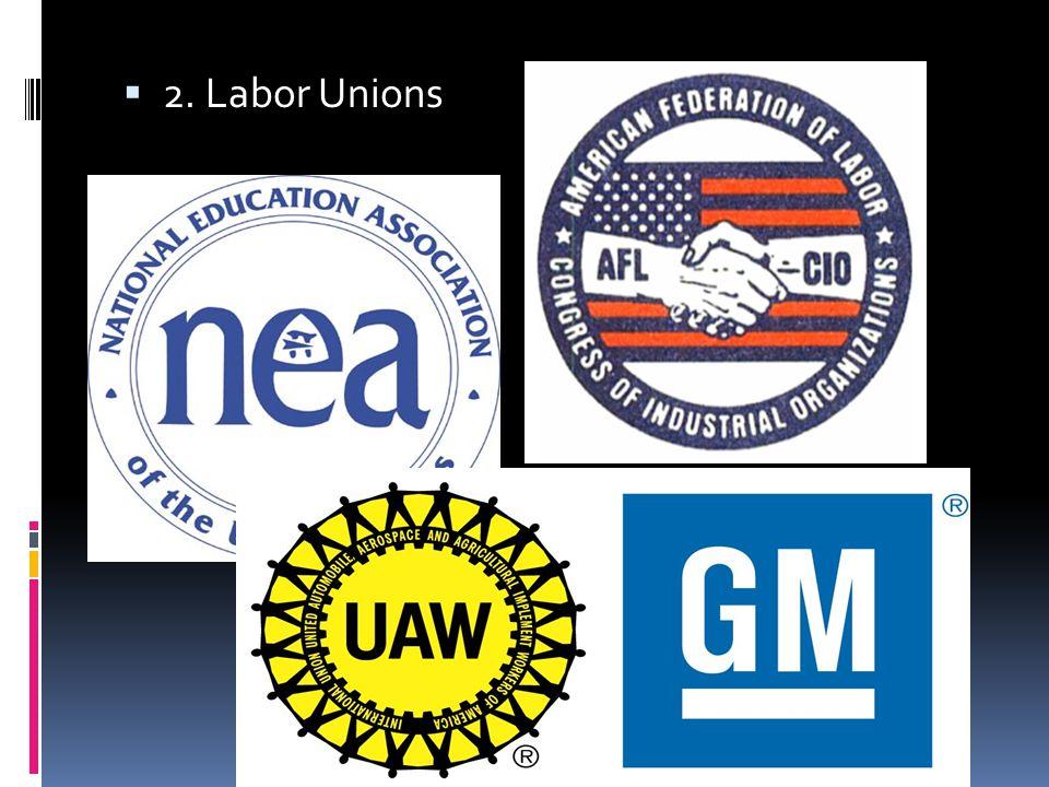 Economic Groups  Business  Trade Associations  Labor  Professional Associations