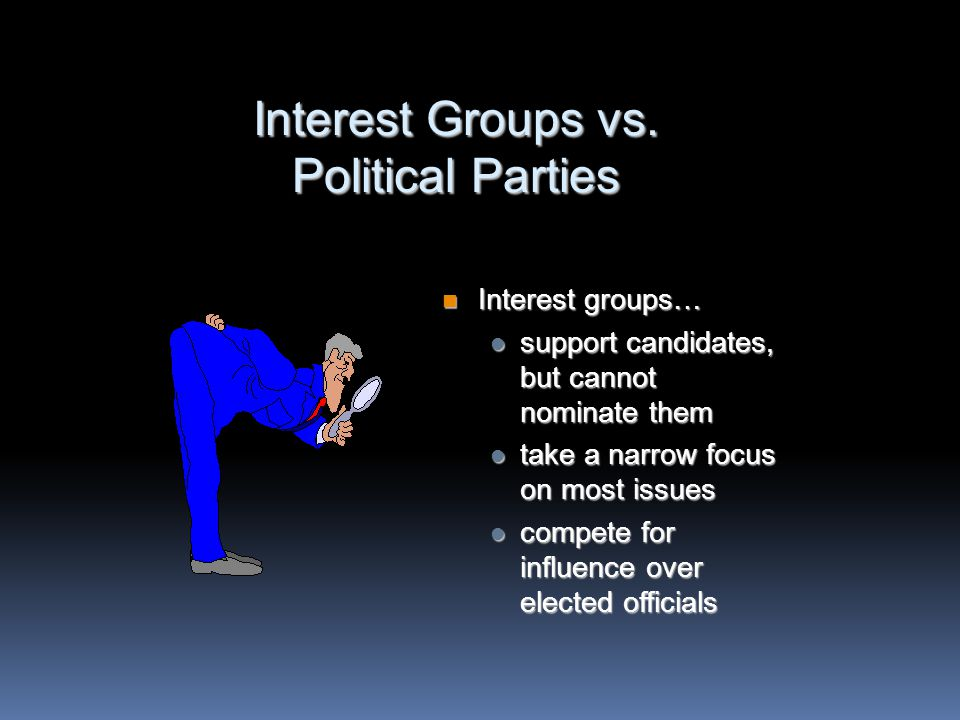 Growth of Interest Groups