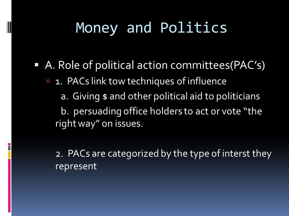 Presidential Races Trends in Spending  1996  $425.7 million.