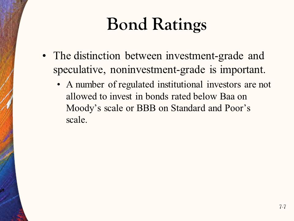7-38 The Expectations Hypothesis If there is no uncertainty, then an investor will be indifferent between holding a two-year bond or a series of two one-year bonds.