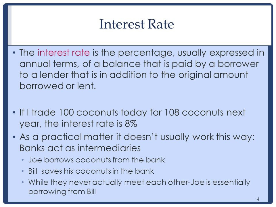 15 Internal rate of return At 5% (or less) this was a good investment At 8% (or more) this is a bad investment Internal rate of return : The interest rate where the present value of costs and benefits are equal.