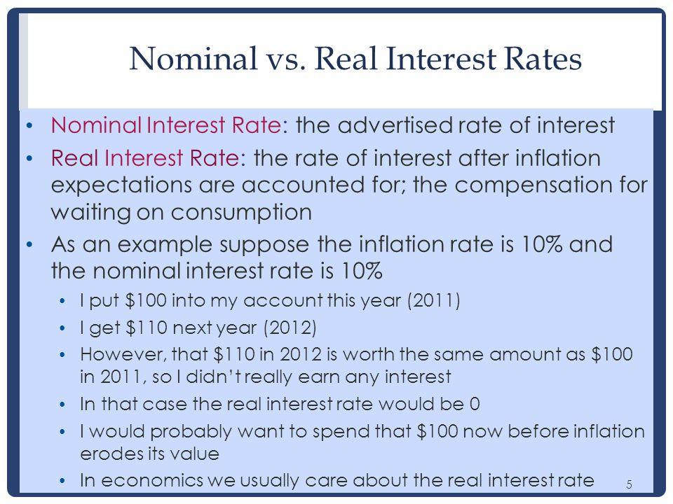 5 Nominal vs.