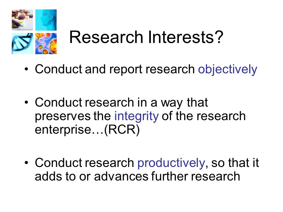 Research Interests.