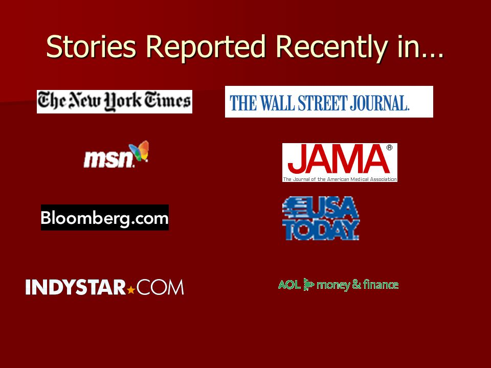 Stories Reported Recently in…