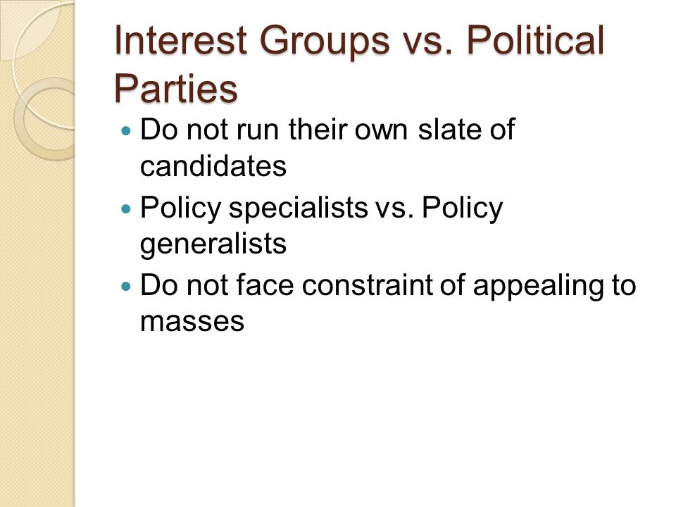 Factions & Madison Federalist #10 Source of Factions = unequal distribution of wealth We are a NATION of factions
