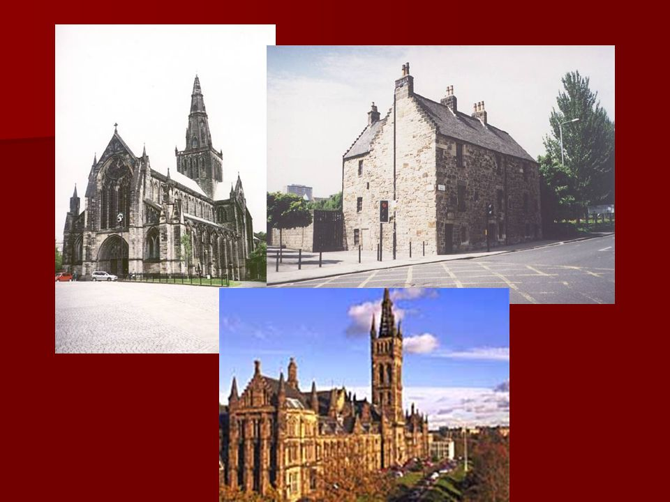 Perth St. John's Kirk Famous historic site with magnificent Palace Build in 1580 Scone Palace