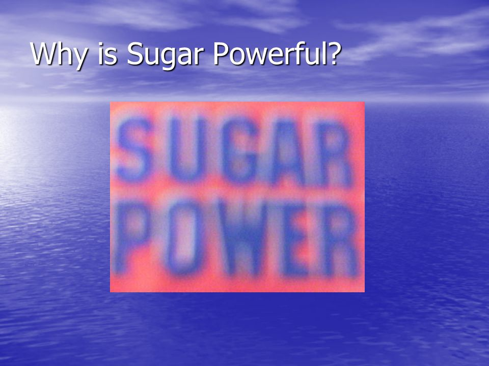Big Sugar Who can overcome collective action problem.