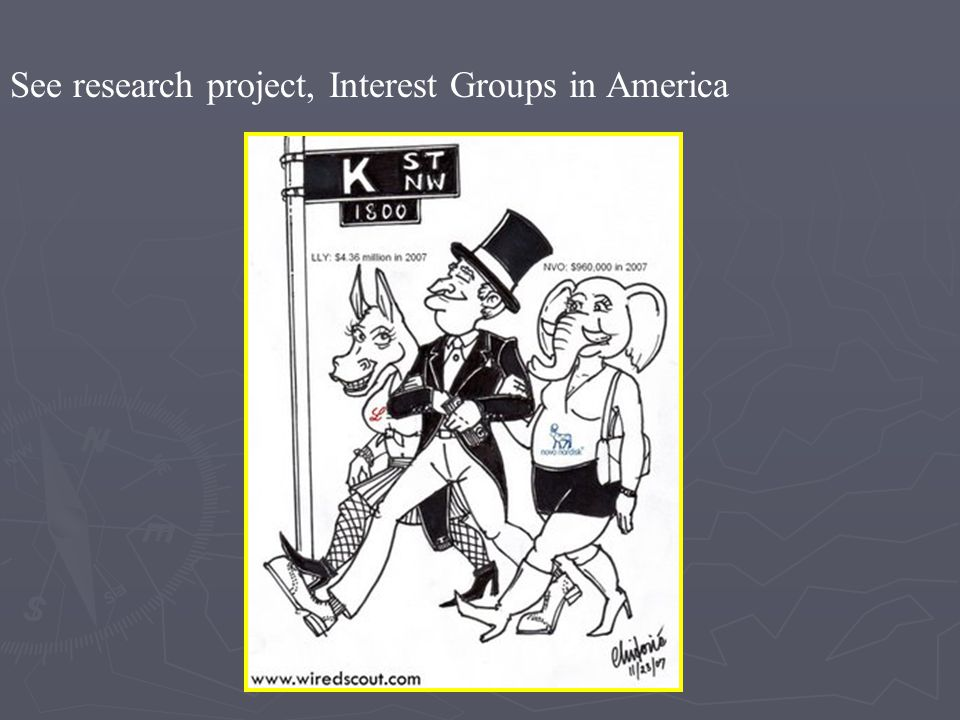 See research project, Interest Groups in America