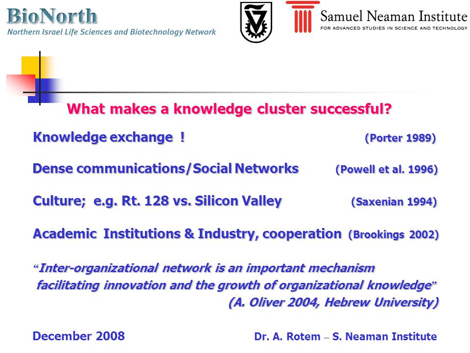 What are the benefits of a knowledge Cluster .What are the benefits of a knowledge Cluster .