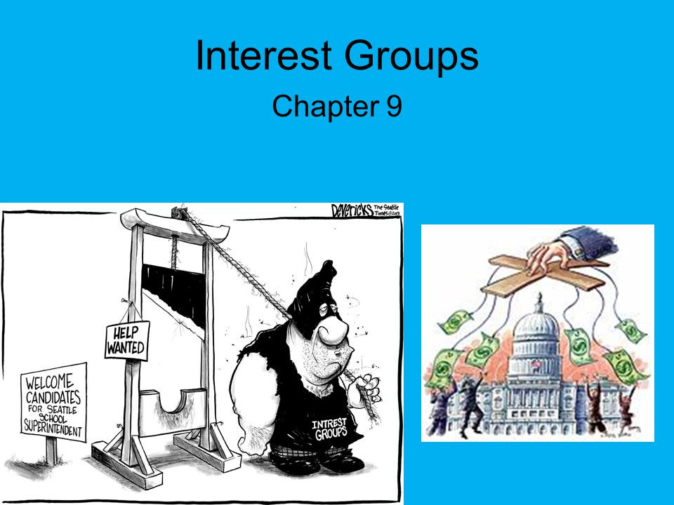 Interest Groups Chapter 9