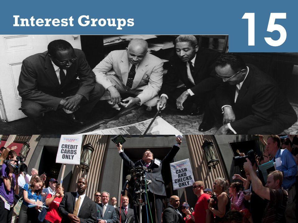 Video: The Big Picture 15 http://media.pearsoncmg.com/ph/hss/SSA_SH ARED_MEDIA_1/polisci/presidency/OConner_C h15_Interest_Groups_Seg1_v2.html
