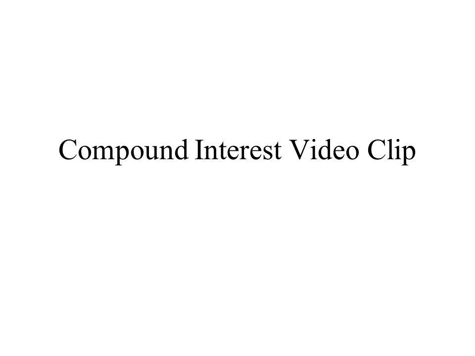 Compound Interest Video Clip