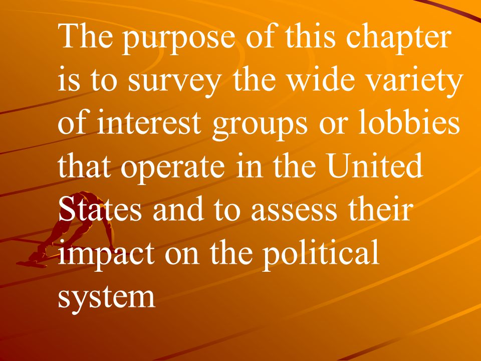 THEME A American Interest Groups in Comparative Perspective