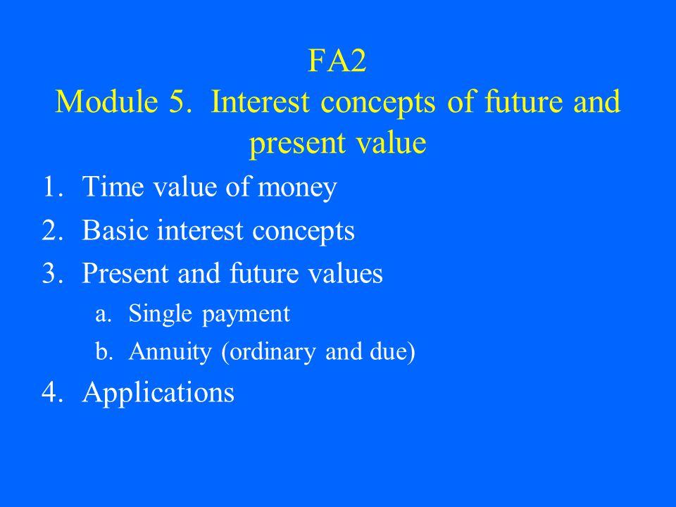 FA2 Module 5.
