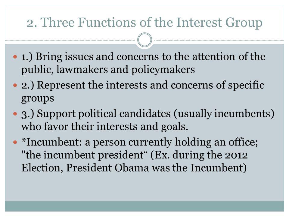 3.What is lobbying.