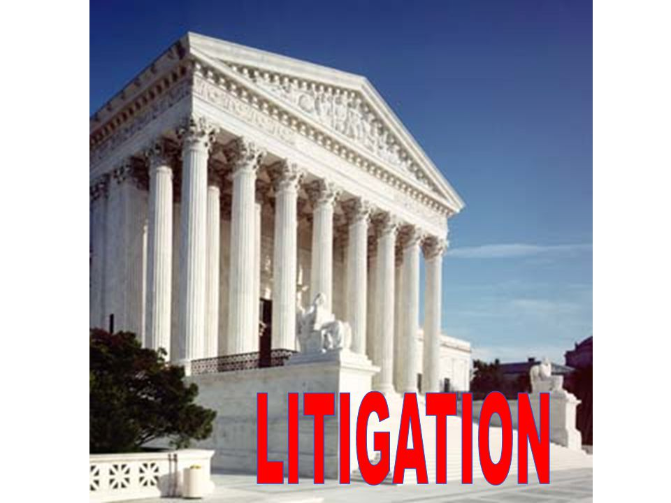 GO TO COURT IF LEGIS- LATIVE PROCESS FAILS, OR IS TOO SLOW  FILE LAW SUITS  FILE AMICUS CURIAE  SPONSOR TEST CASES