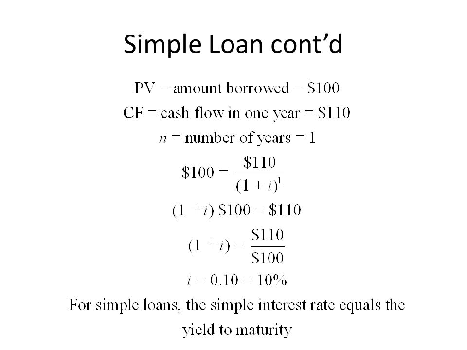 The Distinction Between Interest Rates and Returns (cont'd) The return equals the yield to maturity only if the holding period equals the time to maturity.