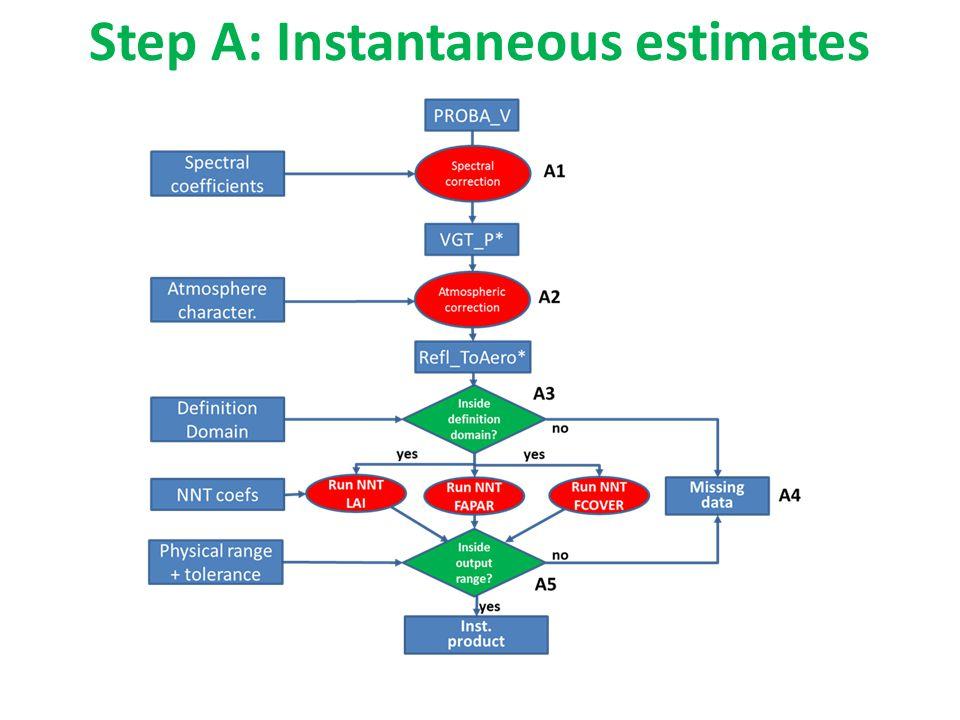 Step A: Instantaneous estimates